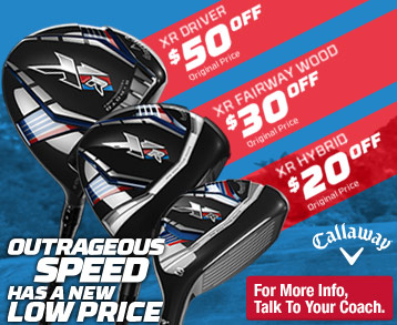 Callaway XR Club Deal