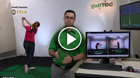 How shoulder and hip bend differ in good and bad golfers.
