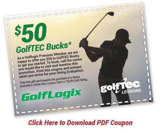 $50 GolfTEC Bucks